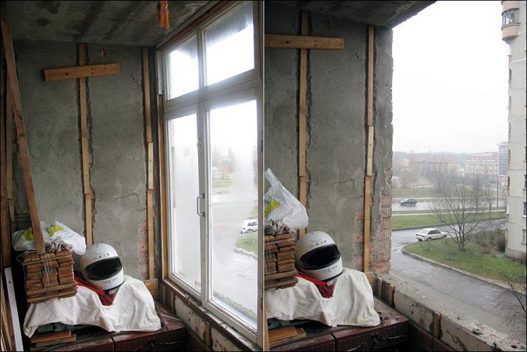 Как сделать из обычного балкона рабочий кабинет.