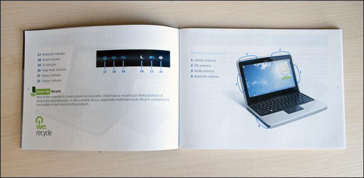 Обзор нетбука от Nokia!